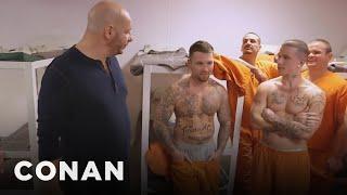 getlinkyoutube.com-Jeff Ross On Roasting Prison Inmates  - CONAN on TBS