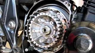 getlinkyoutube.com-バイク クラッチ交換 ZRX400