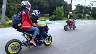 getlinkyoutube.com-ทริป Msx Minibike เมืองทอง ( นครนายก )