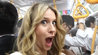 getlinkyoutube.com-Will You Get GROPED on Tokyo Subway? -- Tokyo, Japan