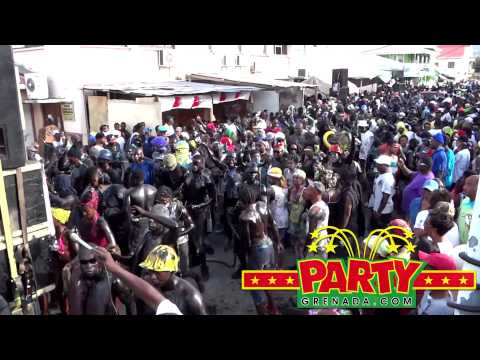 Real Jab Jab Band Jouvert Morning Carriacou & PM Carnival 2014