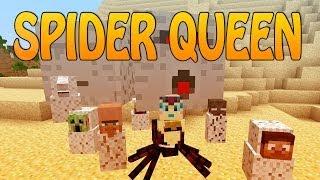 """getlinkyoutube.com-SOY UNA ARAÑA!!   """"Spider Queen Reborn""""   Minecraft Mod Review"""