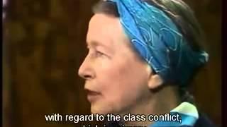getlinkyoutube.com-Simone de Beauvoir: 1975 Interview (English Subs)