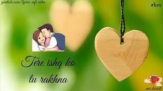 Khaali Khaali Dil Ko   Heart Touching Whatsapp Status   Romantic Status   Love Status
