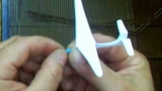 getlinkyoutube.com-the world's smallest flying glider- how to