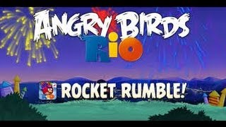 getlinkyoutube.com-Angry Birds Rio 2 - Rocket Rumble Walkthrough All Levels