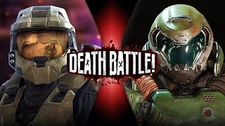 getlinkyoutube.com-Master Chief VS Doomguy | DEATH BATTLE! | ScrewAttack!