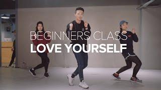 getlinkyoutube.com-Love Yourself - Justin Bieber / Beginner's Class