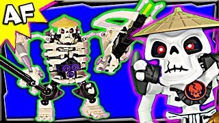 getlinkyoutube.com-Skeleton SKULL MECH Custom Lego Ninjago Rebooted 70500 70723 Animated Building Review