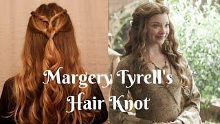 getlinkyoutube.com-Game of Thrones Inspired: Margaery Tyrell Knot.