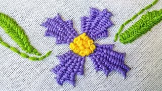 getlinkyoutube.com-Hand Embroidery |  Stitching Tutorials |  HandiWorks #29