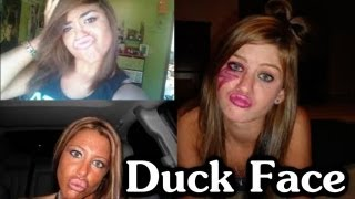getlinkyoutube.com-Duck Face WTF!