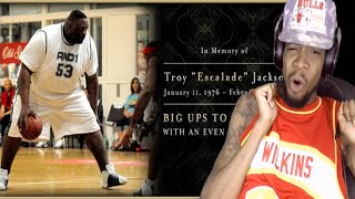 getlinkyoutube.com-R.I.P TO THE BEST FAT PLAYER EVER!! ESCALADE JACKSON AND 1 REACTION! REST IN PEACE BRO!