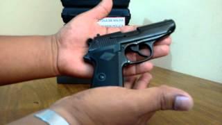 getlinkyoutube.com-Pistola SALVA - FOGUEO BRUNI NEW POLICE