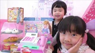 getlinkyoutube.com-★Licca-chan´s convenience store★「リカちゃんコンビニおさつスイッとレジスター」で遊んだよ★