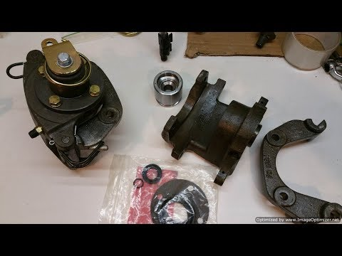 XC GXL Restoration Pt 42 - XC XD Rear Brake Caliper Rebuild