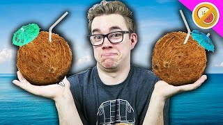 DRUNK ON COCONUTS! | Raft #4