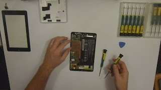 getlinkyoutube.com-Acer Iconia One 7 B1-730HD Complete Disassembly / Teardown / Breakdown
