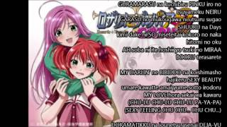 "getlinkyoutube.com-Anime Karaoke: Rosario + Vampire Capu2 ""DISCOTHEQUE"" (Final Episode Version)"