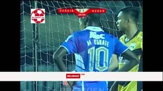 Highlight Semi Final Piala Presiden Persib Bandung vs Mitra Kukar Leg ke 2 (10/10/2015)