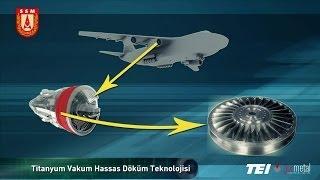 Titanyum Döküm Teknolojisi Geliştirilmesi - İNCİ Projesi
