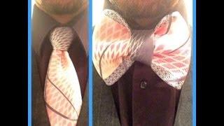 getlinkyoutube.com-How to turn your Necktie into a Bowtie!