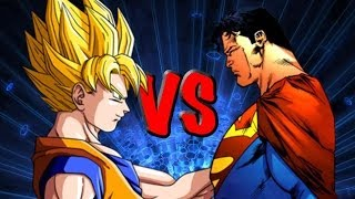 Goku vs Superman 2 [Epic Rap Battle]