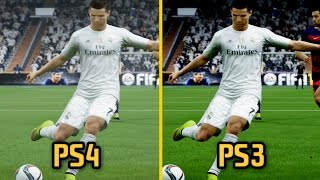 getlinkyoutube.com-FIFA 16 - PS3 vs PS4 Graphics and Gameplay Comparison