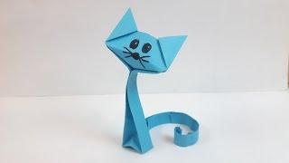 getlinkyoutube.com-How to make a paper Cat?