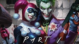 getlinkyoutube.com-BATMAN RETURN TO ARKHAM (Arkham Asylum) Walkthrough Gameplay Part 1 - Joker (PS4 Pro)