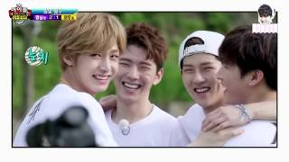 I.M kissed Wonho? Hyungwon watches yaoi? [ENGLISH SUBS] {Fake Subs} width=