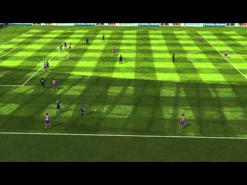 FIFA 14 Android - Shah of Kafkaz VS Newcastle Utd