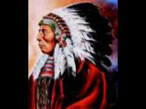 Da sprach der alte Häuptling der Indianer