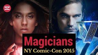 NYCC 2015: Jason Ralph e Stella Maeve de The Magicians
