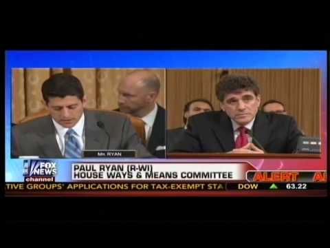 PAUL RYAN Destroys IRS Commissioner Steven Miller at House Hearing