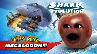 getlinkyoutube.com-Midget Apple Plays - Hungry Shark Evolution: MEGALODON