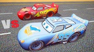 getlinkyoutube.com-Grand Theft Auto IV Mods Race With CARS, LIGHTNING MCQUEEN Dinoco GTA IV Funny Gameplay