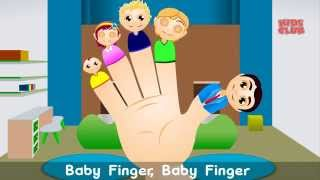 getlinkyoutube.com-Finger Family Song - Popular #NurseryRhymesForChildren I Kids Songs