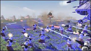 getlinkyoutube.com-THE GRAND ARMY OF THE REPUBLIC - Star Wars: Galaxy at War Mod Gameplay