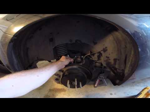 FR-S Wheel Speed Sensor Replacement (Cures P2158)
