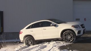 getlinkyoutube.com-AWD TEST: 2016 Mercedes-Benz GLE coupe 350D : Offroad test / 4Matic Test