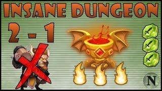 getlinkyoutube.com-[Castle Clash] Insane Dungeon 2-1 (No Mino/SM) for Goblet of Life
