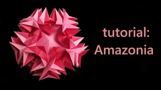 getlinkyoutube.com-kusudama - modular origami - amazonia - tutorial - dutchpapergirl