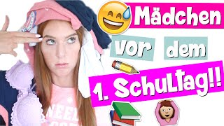 getlinkyoutube.com-MÄDCHEN VOR DEM 1. SCHULTAG! | Typisch Mädchen | LaurenCocoXO