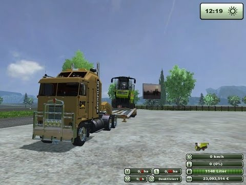 Kenworth Truck Mod For Farming Simulator 2013 (Part of the Cat Fleet Pack)