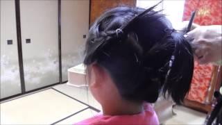 getlinkyoutube.com-七五三の髪型【7歳女の子】簡単かわいいヘアースタイル