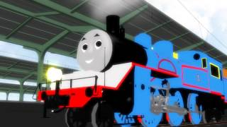 Thomas the tank Engine travels Japan[MMD]