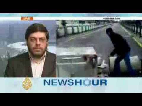Professor Mohammad Marandi in Tehran says the hanged Iranians were terrorists - 30 Jan 2010