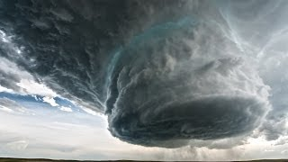 getlinkyoutube.com-5/18/14 Wright to Newcastle, WY Supercell Time-Lapse