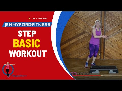 Step Aerobics Basic w/3 Fun Combos